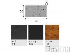 Плита из архитектурного бетона Luxum 60x30