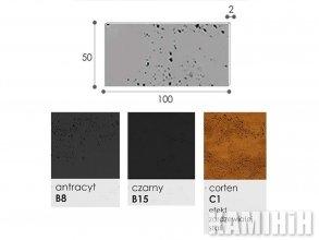 Плита из архитектурного бетона Luxum 100x50