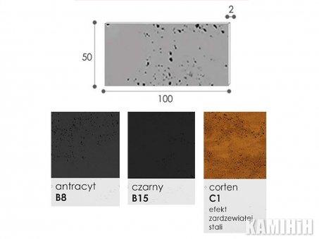 Плита з архітектурного бетону Luxum 100x50