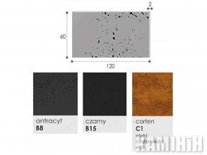Плита из архитектурного бетона Luxum 120x60
