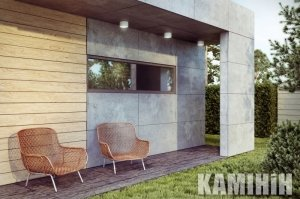 Plate made of architectural concrete Luxum 150x60