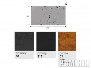 Плита из архитектурного бетона Luxum 150x60