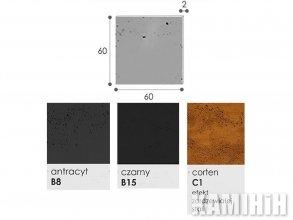 Плита из архитектурного бетона Luxum 60х60