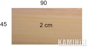 Плита з пісковика Hogar Desert colour 45x90