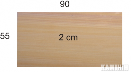 Плита з пісковика Hogar Desert colour 55x90
