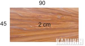 Плита з пісковика Hogar Rainbow colour 45х90