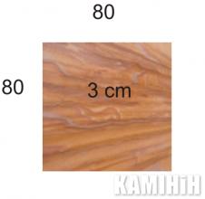 Плита з пісковика Hogar Rainbow colour 80х80
