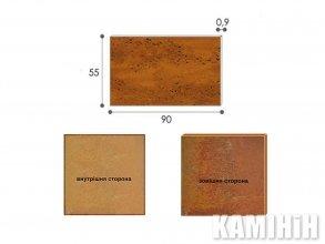 Плита из стали кортен Luxum 55x90