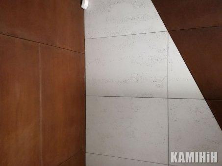 Декоративная панель из стали кортен 55x90