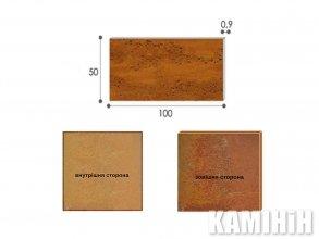 Плита из стали кортен Luxum 50x100