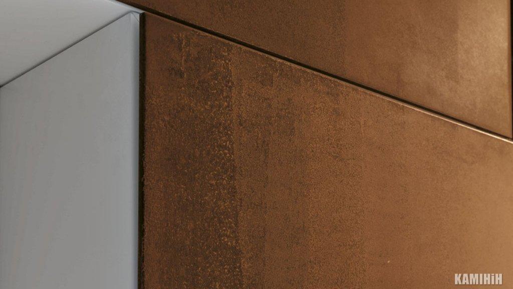 Декоративная панель из стали кортен 50x100