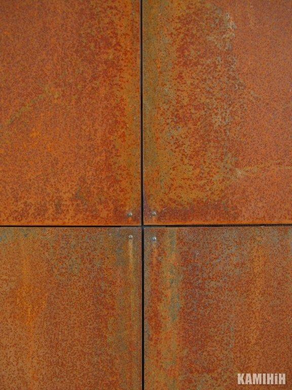 Плита з сталi кортен Luxum 60х60