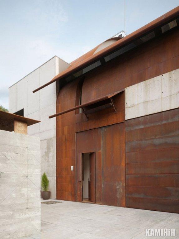 Декоративная панель из стали кортен Luxum, не обработаная (цена за м²)