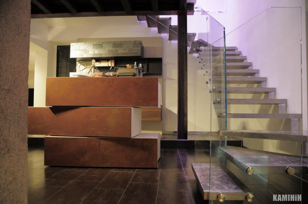 Плита з сталi кортен Luxum 60x150