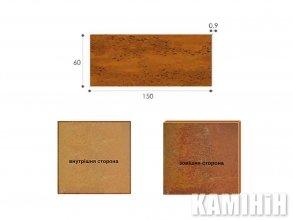 Плита из стали кортен Luxum 60x150