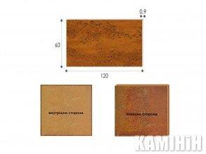 Плита из стали кортен Luxum 60x120