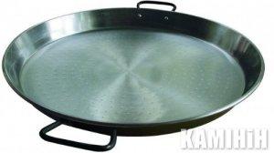 Плоска сковорідка для приготування паельї 50 см