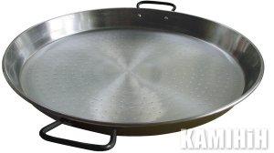 Плоска сковорідка для приготування паельї 70 см