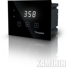 Регулятор горіння Timpex 110 - 100 - 4m - чорний
