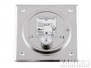 Регулятор тяги димаря на ревізійну рамку Darco RCW-CH 125x185