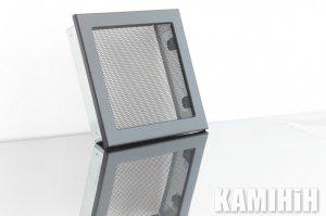 Решетка с сеткой KRVSM 220x220-ML