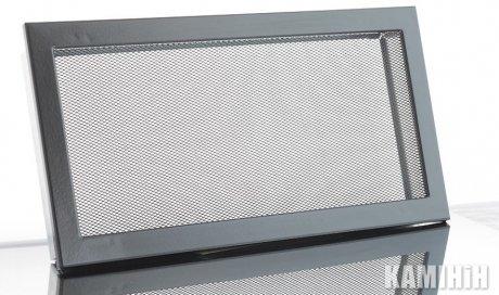 Решетка с сеткой KRVSM 450x170-ML