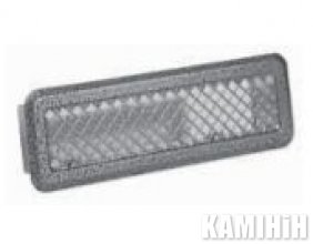 Решітка без жалюзів фарбована Darco K0-ML