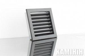 Решітка вентиляційна для каміна KRVZ 220x220-ML без регуляції