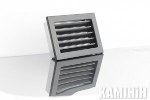 Решітка вентиляційна для каміна KRVZ 240x170-ML без регуляції