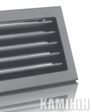 Решітка вентиляційна для каміна KRVZ 450x170-ML без регуляції