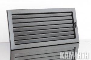 Решітка вентиляційна для каміна KRVZ 450x170-ML з регуляцією жалюзями