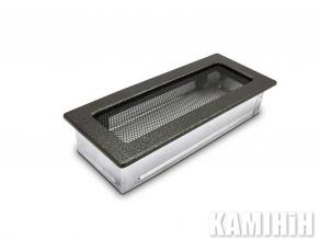 Решітка вентиляційна для каміну 10,5х25 антична мідь