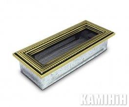 Решітка вентиляційна для каміну 10,5х25 ратан