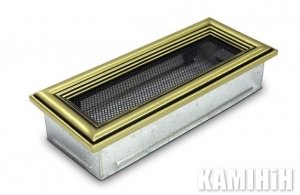 The ventilation for the fireplace grate 10,5x25 retro