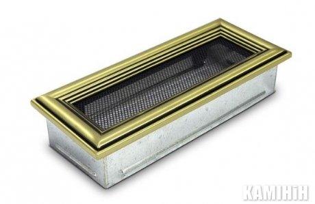 Решітка вентиляційна для каміну 10,5х25 ретро
