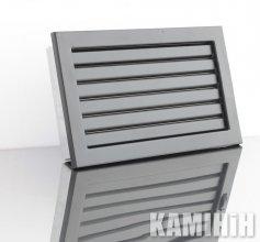 Решітка вентиляційна для каміна KRVZ 240x170-ML з регуляцією жалюзями