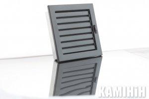 Решітка вентиляційна для каміна KRVZ 220x220-ML з регуляцією жалюзями
