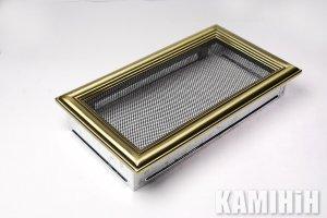 Решітка вентиляційна для каміну 17х30 ретро