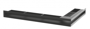 """Решітка вентиляційна для каміну """"V - OPEN-L"""" 500х300/100-L-ML кутова"""