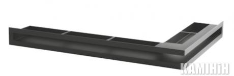 """Решітка вентиляційна для каміну """"V - OPEN-L"""" 500х300/70-L-ML кутова"""