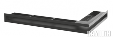 "Решетка вентиляционная для камина ""V - OPEN-L"" 500х300/70-L-ML угловая"