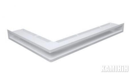"Решетка вентиляционная для камина ""V - OPEN-L"" 500х700/70-P-ML углова"