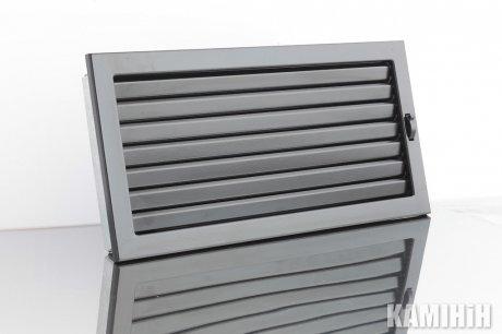 Решітка вентиляційна для каміна KRVZ 450x220-ML з регуляцією жалюзями