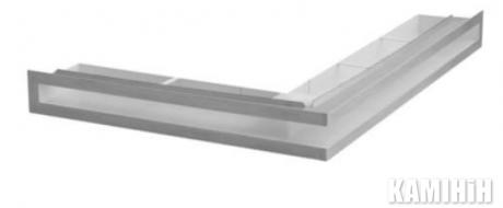 """Решітка вентиляційна для каміну """"V-OPEN"""" KRVO-L/R-500x300/100L-CH"""