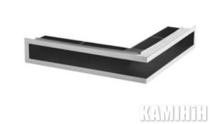 """Решітка вентиляційна для каміну """"V-OPEN"""" KRVO-L-300x500/100P-CH"""