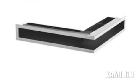 """Решітка вентиляційна для каміну """"V-OPEN"""" KRVO-L-700x500/70L-CH"""