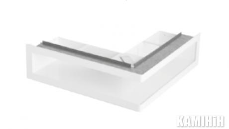 """Решітка вентиляційна для каміну """"V-OPEN"""" KRVO-L-700x500/70L-ML"""
