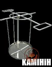 Аксесуар для тандира - шампурниця з піддоном для жиру