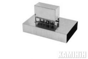 Шибер з термічним приводом PJPS-ST150x50/C-OC-SILIKON