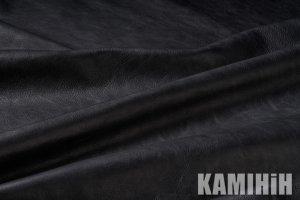 Кожа для стен и оббивки STONEWASH RAW – BLACK